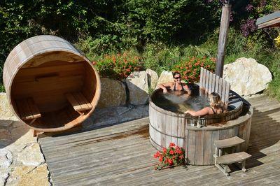 Bain Nordique Spa Sauna Exterieur Pro Sur Mesure Storvatt