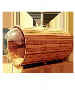 Sauna vue panoramique