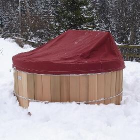 Bâche de protection en PVC 680 g / m²