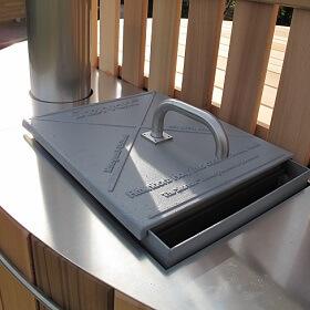 40kw aluminium stove