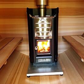 Fourneau électrique 6.9 kW ou à bois