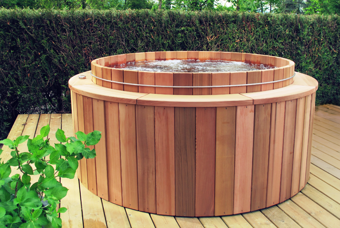 Wooden spa